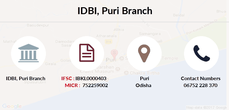 Idbi-bank Puri branch