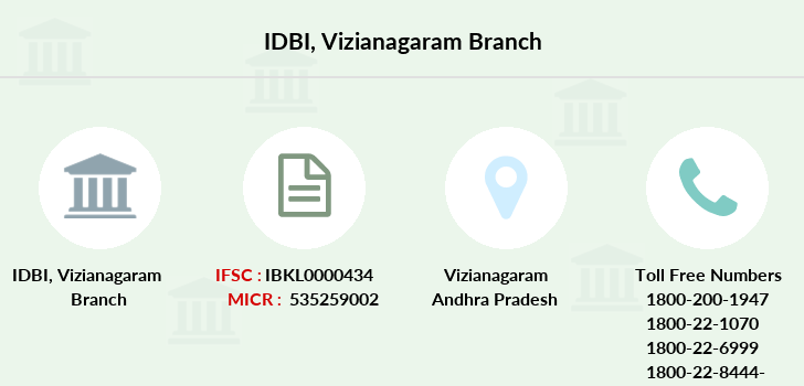 Idbi-bank Vizianagaram branch