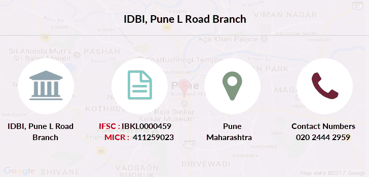 Idbi-bank Pune-l-road branch