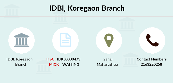 Idbi-bank Koregaon branch