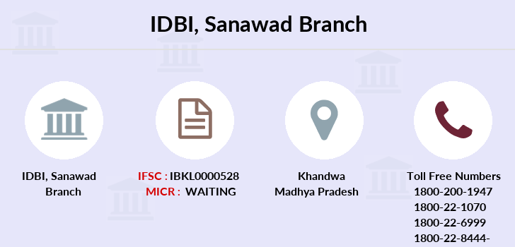 Idbi-bank Sanawad branch