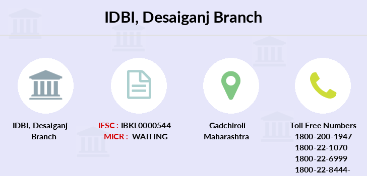 Idbi-bank Desaiganj branch
