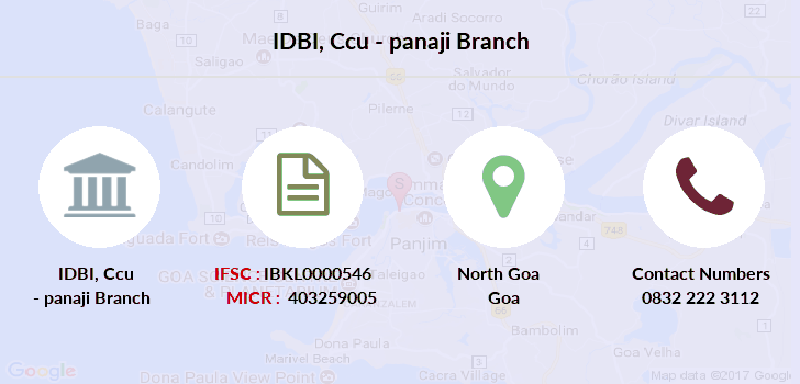 Idbi-bank Ccu-panaji branch