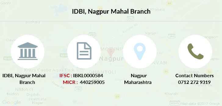 Idbi-bank Nagpur-mahal branch