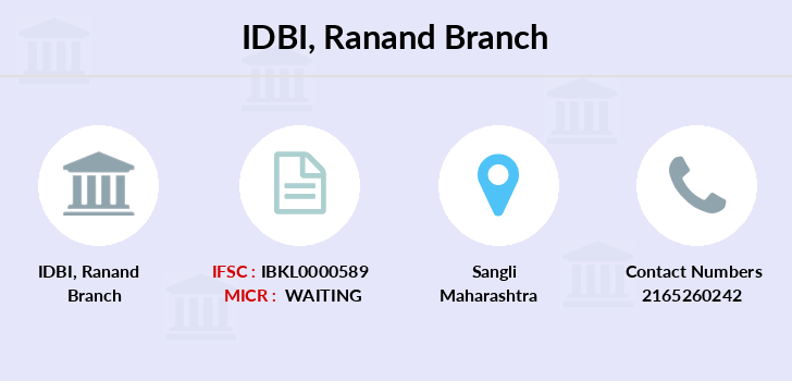 Idbi-bank Ranand branch