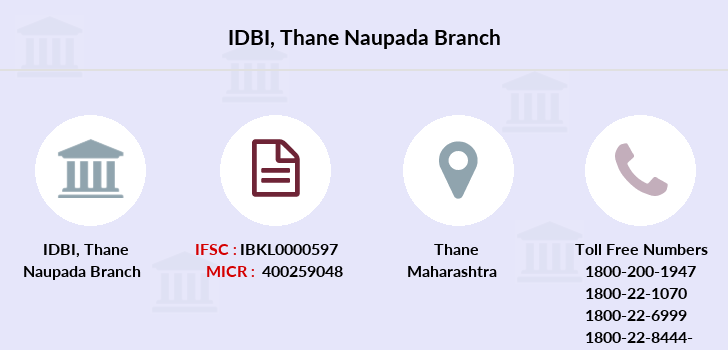 Idbi-bank Thane-naupada branch