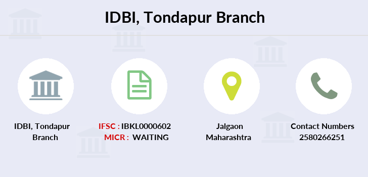 Idbi-bank Tondapur branch