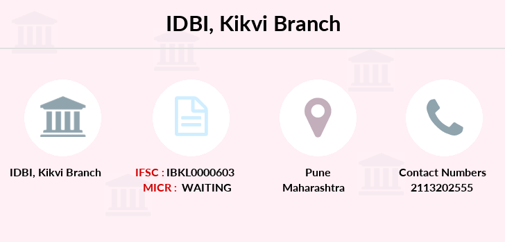 Idbi-bank Kikvi branch