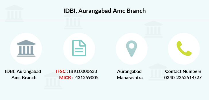 Idbi-bank Aurangabad-amc branch