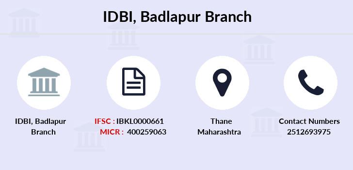 Idbi-bank Badlapur branch