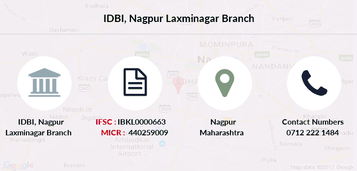 Idbi-bank Nagpur-laxminagar branch
