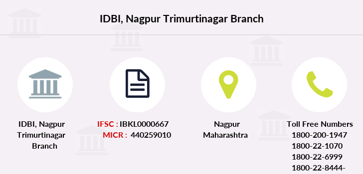 Idbi-bank Nagpur-trimurtinagar branch