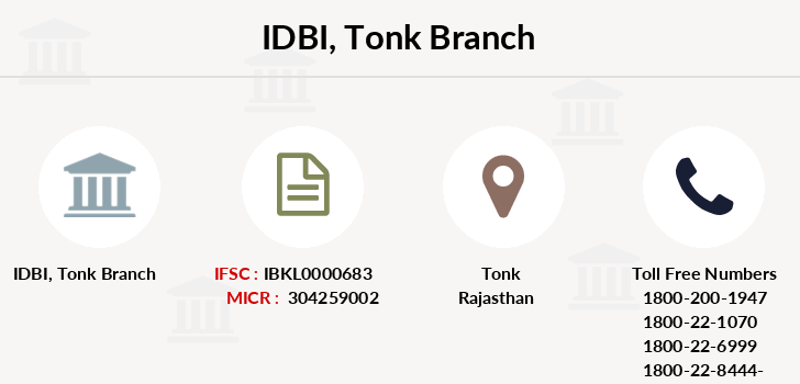 Idbi-bank Tonk branch