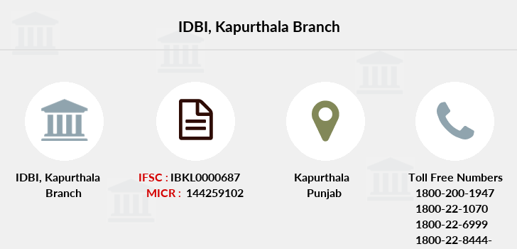 Idbi-bank Kapurthala branch