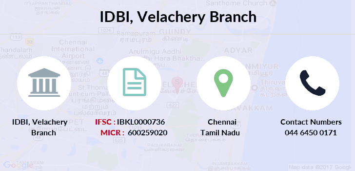 Idbi-bank Velachery branch