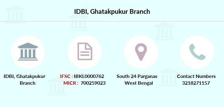 Idbi-bank Ghatakpukur branch