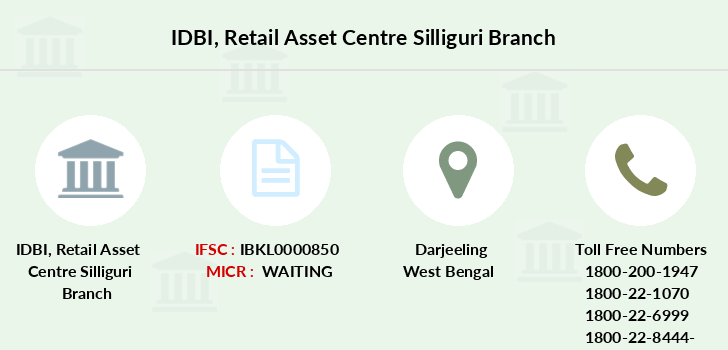 Idbi-bank Retail-asset-centre-silliguri branch