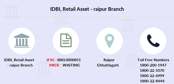 Idbi-bank Retail-asset-raipur branch