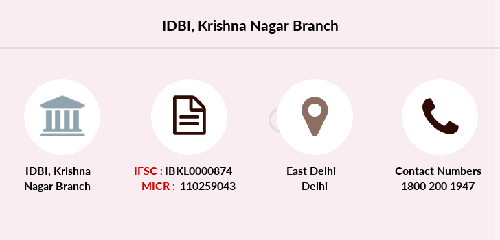 Idbi-bank Krishna-nagar branch