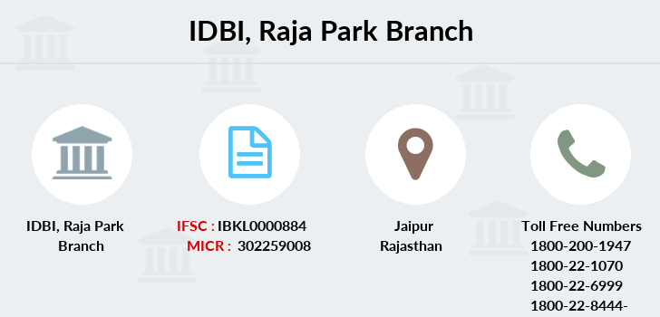 Idbi-bank Raja-park branch