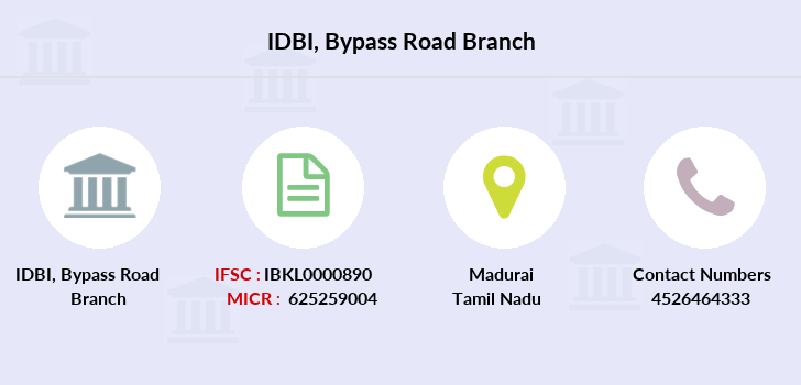 Idbi-bank Bypass-road branch