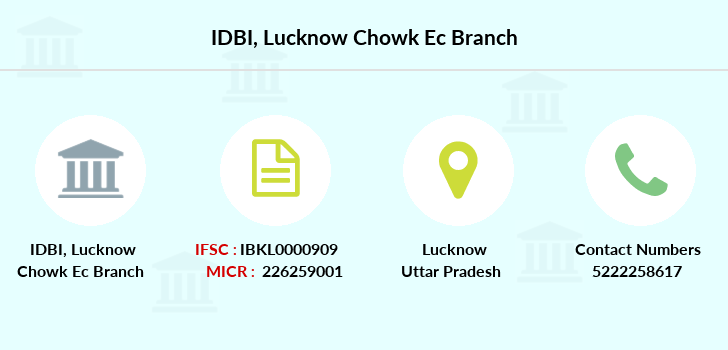 Idbi-bank Lucknow-chowk-ec branch