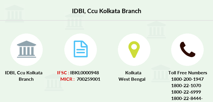 Idbi-bank Ccu-kolkata branch