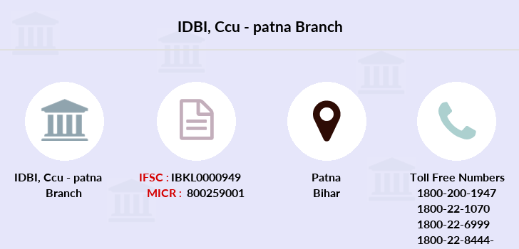 Idbi-bank Ccu-patna branch