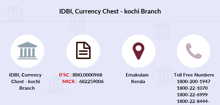 Idbi-bank Currency-chest-kochi branch