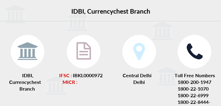 Idbi-bank Currencychest branch