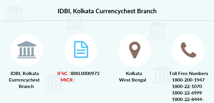 Idbi-bank Kolkata-currencychest branch