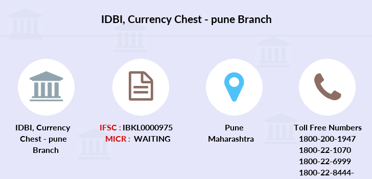 Idbi-bank Currency-chest-pune branch