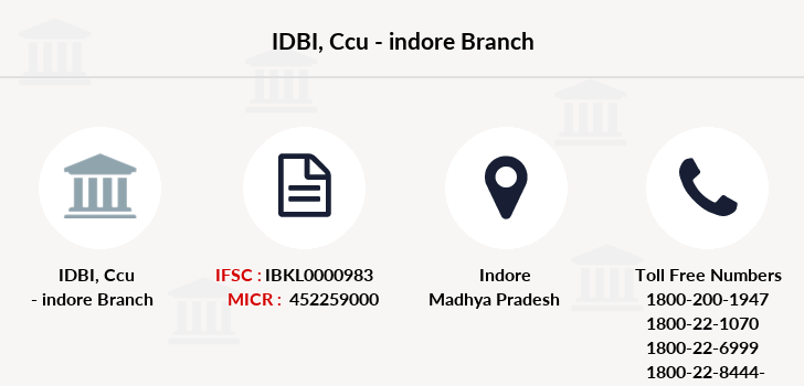 Idbi-bank Ccu-indore branch