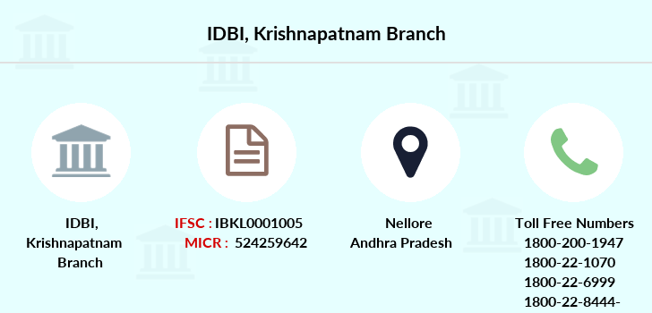 Idbi-bank Krishnapatnam branch