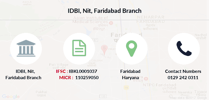 Idbi-bank Nit-faridabad branch