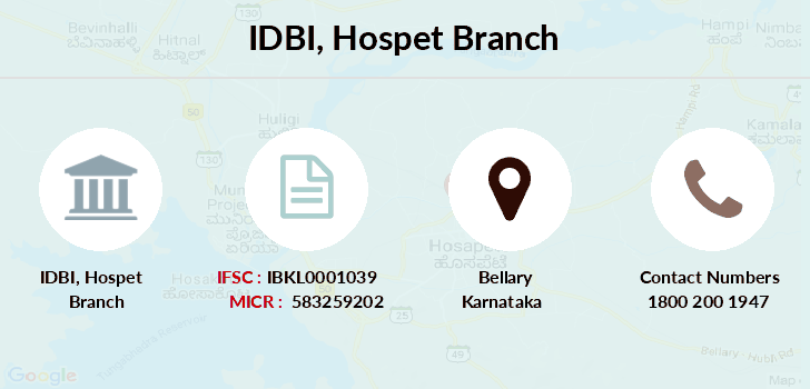 Idbi-bank Hospet branch