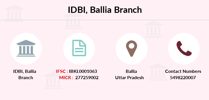 Idbi-bank Ballia branch
