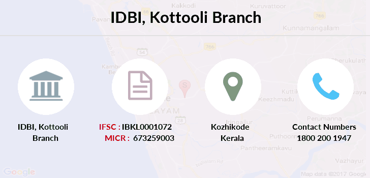 Idbi-bank Kottooli branch