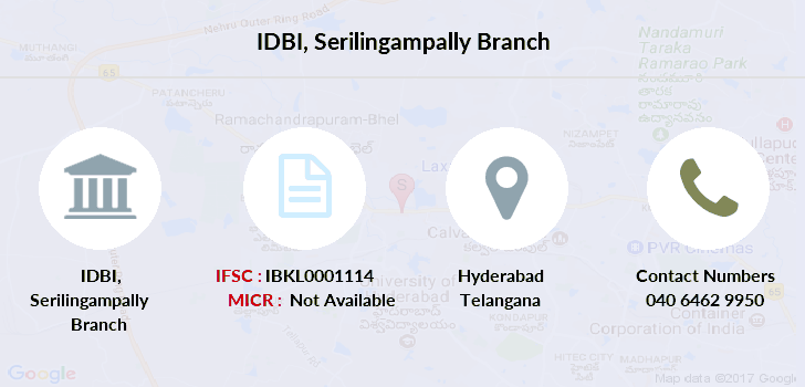 Idbi-bank Serilingampally branch