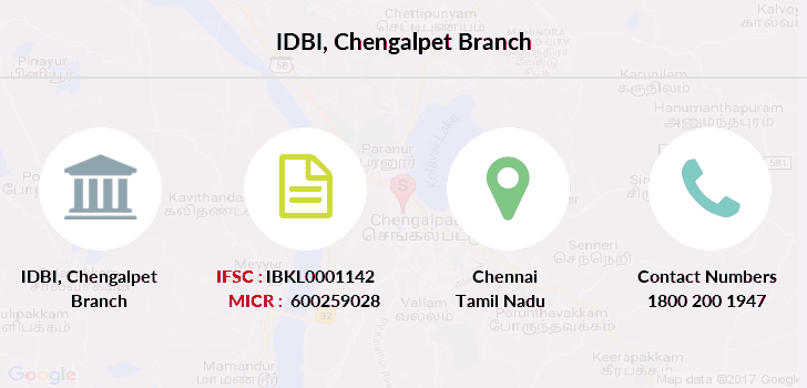Idbi-bank Chengalpet branch