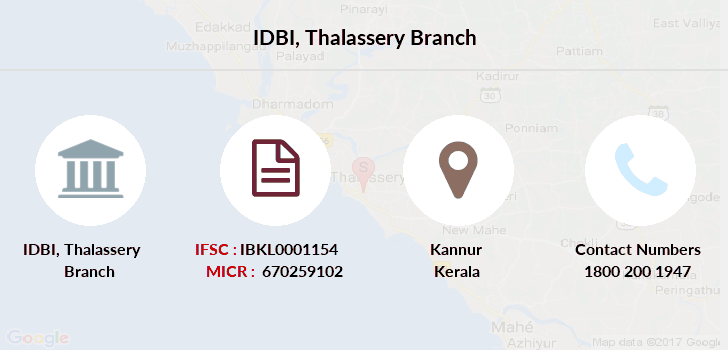 Idbi-bank Thalassery branch