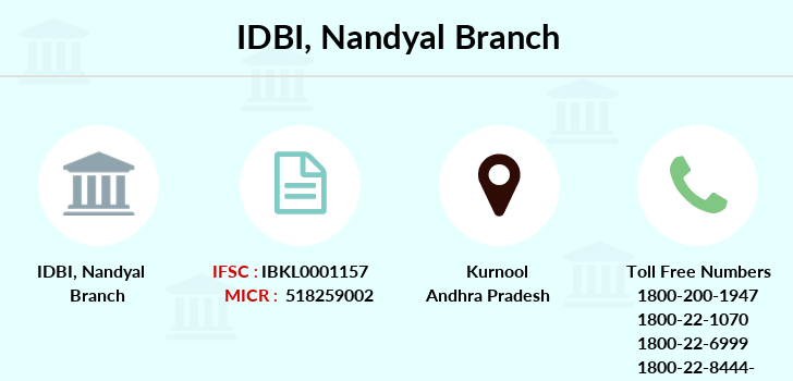 Idbi-bank Nandyal branch