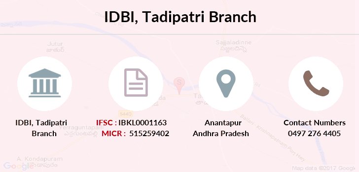 Idbi-bank Tadipatri branch