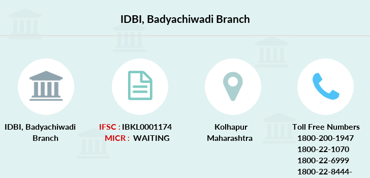 Idbi-bank Badyachiwadi branch