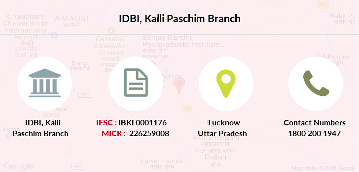 Idbi-bank Kalli-paschim branch