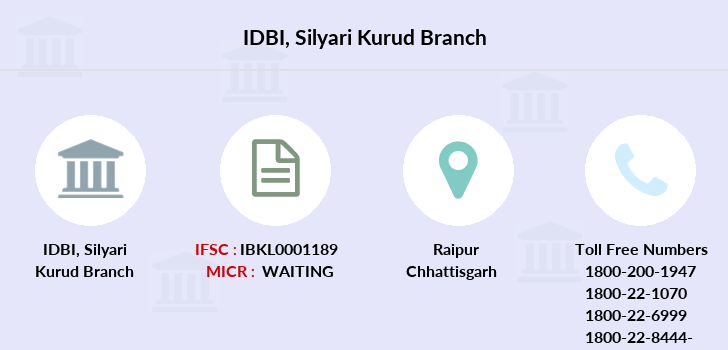 Idbi-bank Silyari-kurud branch