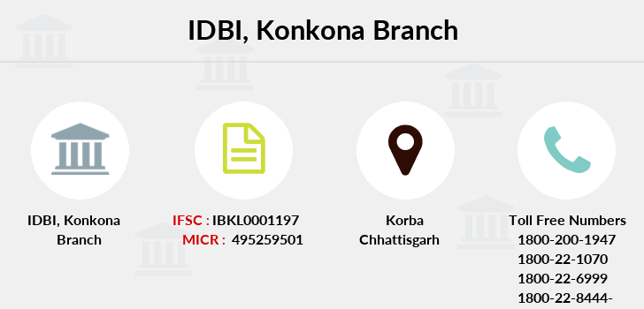 Idbi-bank Konkona branch