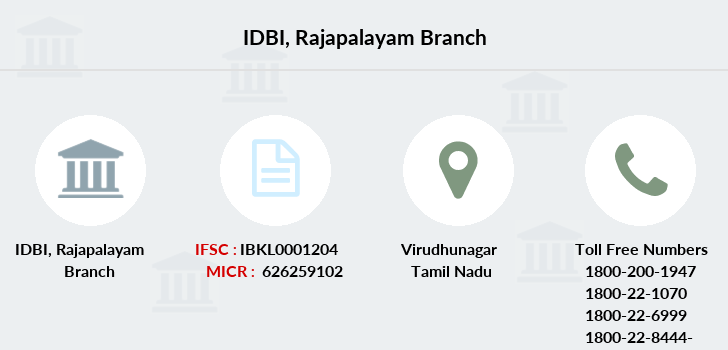 Idbi-bank Rajapalayam branch