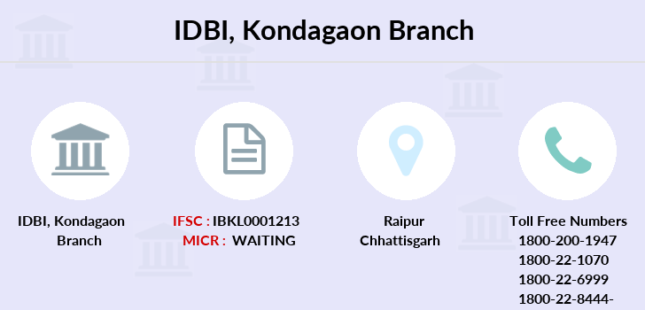 Idbi-bank Kondagaon branch