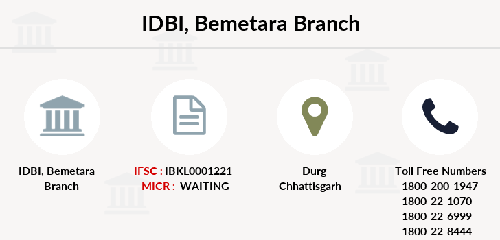 Idbi-bank Bemetara branch
